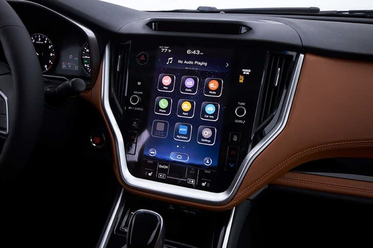 2019 Subaru Legacy infotainment