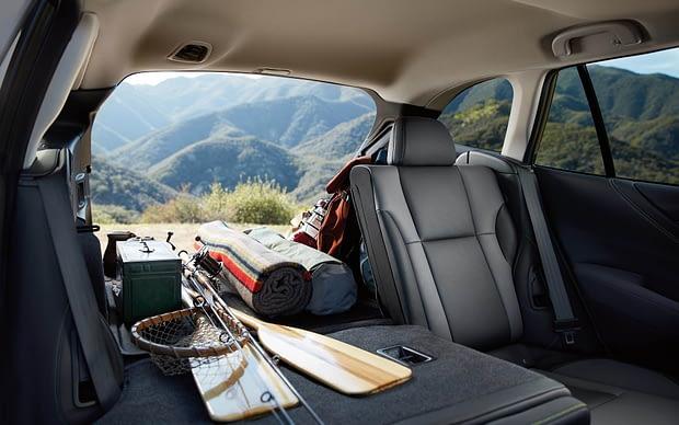 2020 Subaru Outback Cargo space
