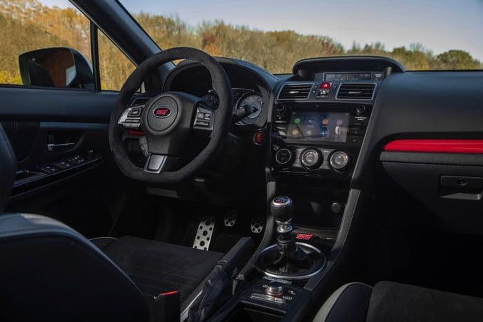 Subaru STI S209 Interior