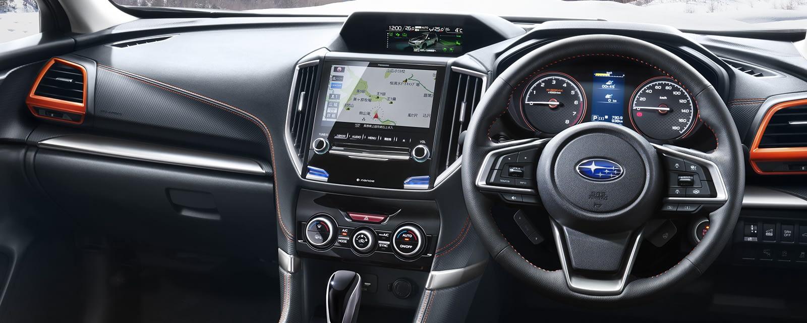 2019 Subaru forester vs outback interior
