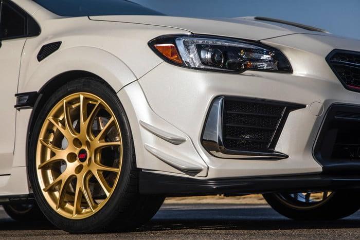 Subaru STI S209 Rims